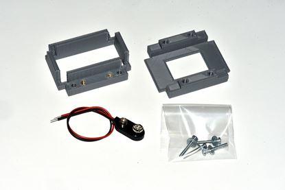 Bay 9 Volt Battery Holder Kit